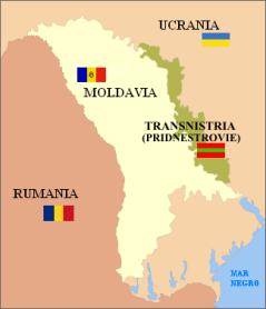 Mapa de Transnistria. Click para ampliar
