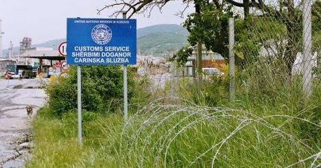 Frontera entre Kosovo y Macedonia