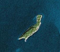 Isla en el Lago Mindemoya en… (click para Google Maps)