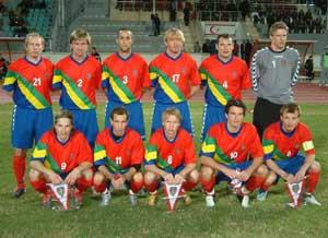 Equipo de Laponia participante en la VIVA World Cup