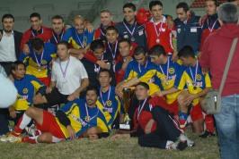 Equipo de la RTNC vencedor de la Copa ELF