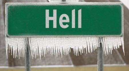 El infierno se congela