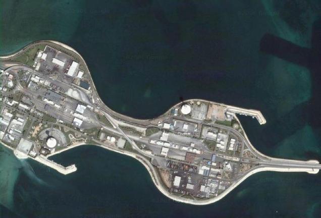 Isla artificial compartida entre Arabia Saud� y Bahréin