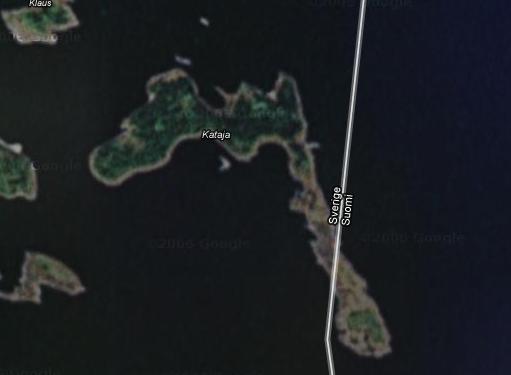 Kataja en Google maps (click para ampliar)