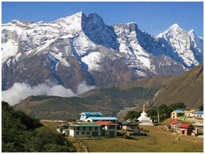 Vista del Everest desde Nagarkot