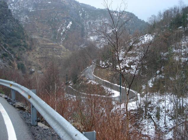 Carretera de Os de Civis (click para ampliar)