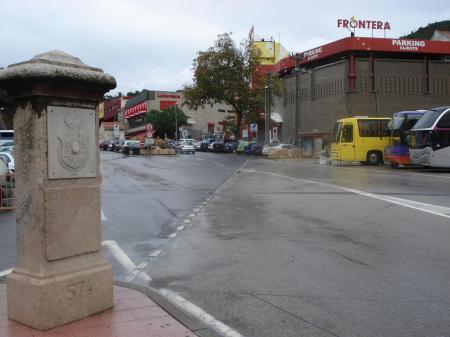 Ciudades divididas: Le Perthus y Els Limits Pertus2