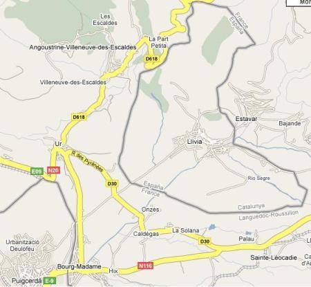 El pueblo de Llivia, un trozo de España en Francia