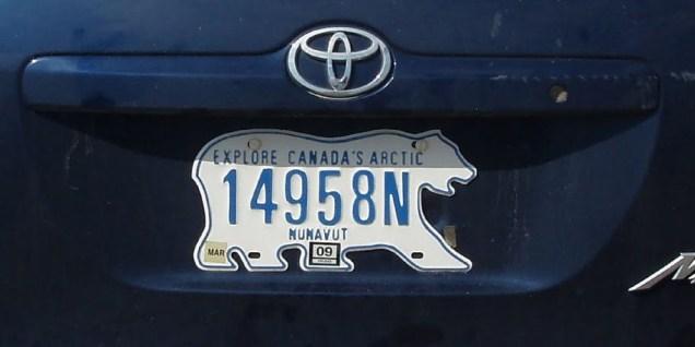 Nunavut plate