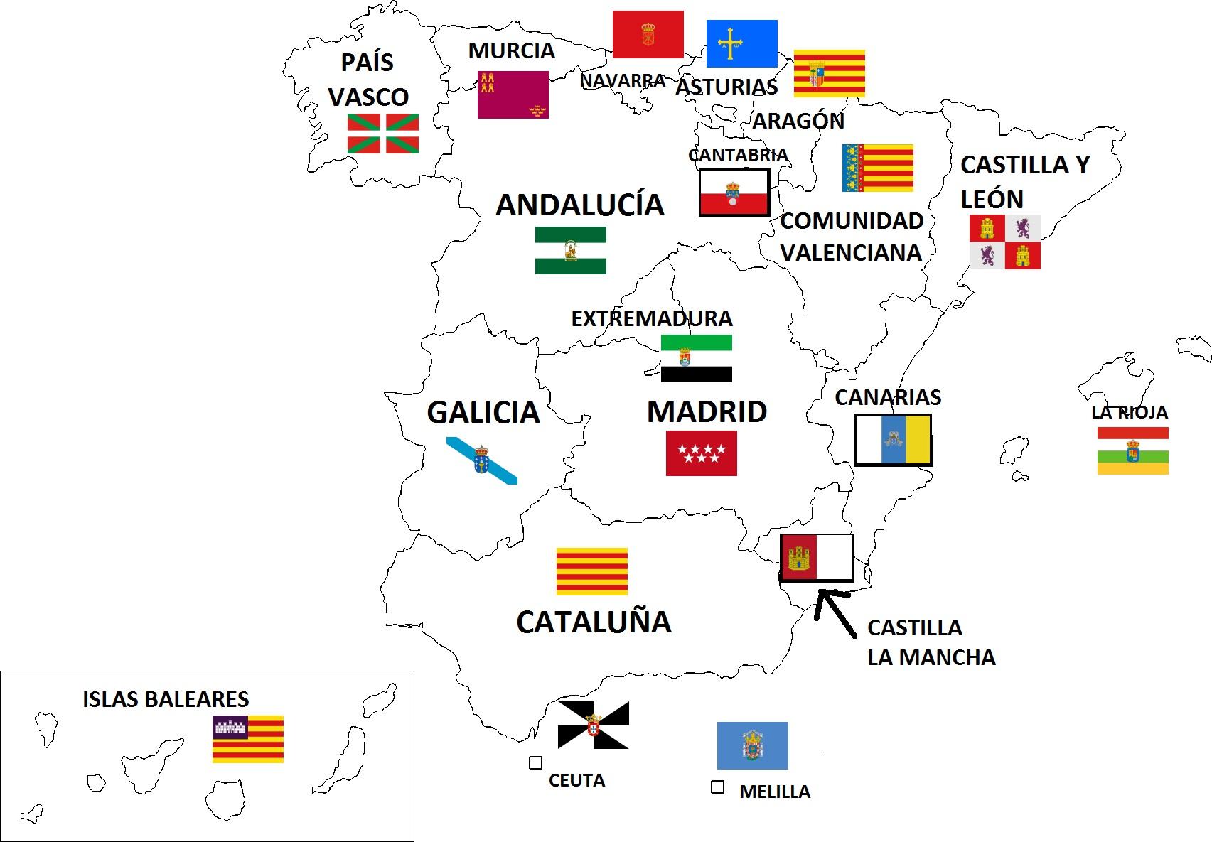Mapa De España Actualizado.Los Mapas De Espana Y Argentina Reordenados Por Poblacion