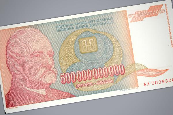 Cuando el dinero no vale ni el papel en el q/está impreso 1
