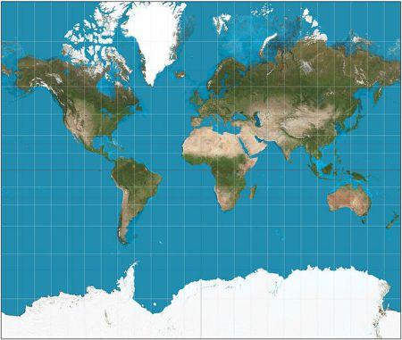 ¿Como luce la tierra realmente?