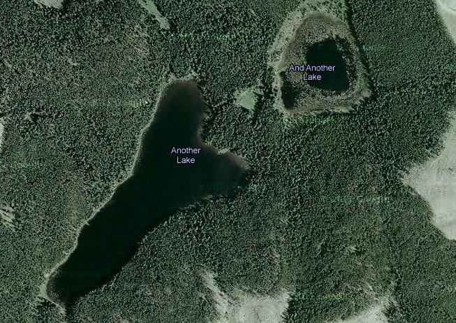 El arte de ponerle nombre a los lagos de Canadá