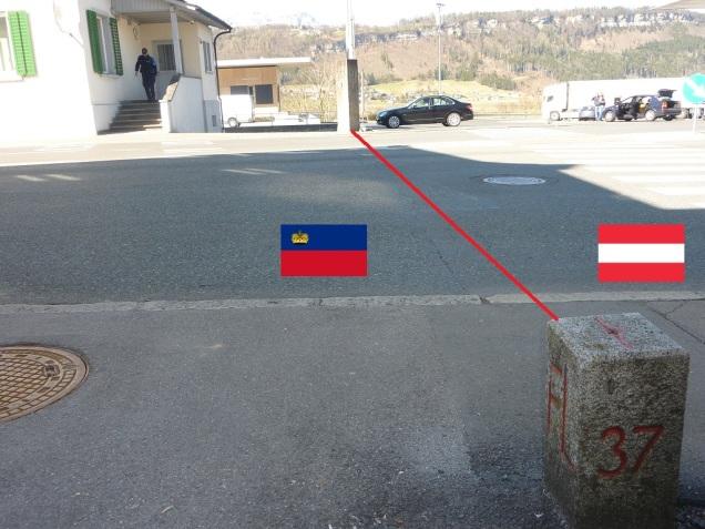 Liechtenstein_Austria_Border