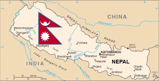 NepalMapFlag
