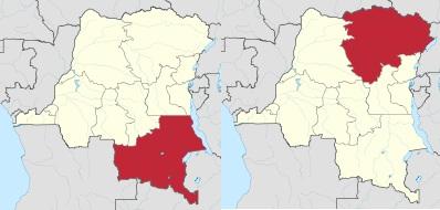 Provincias_Congo