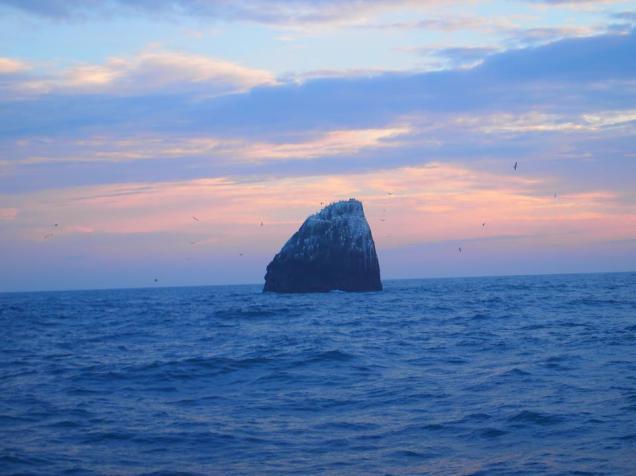 Rockall_Sunset