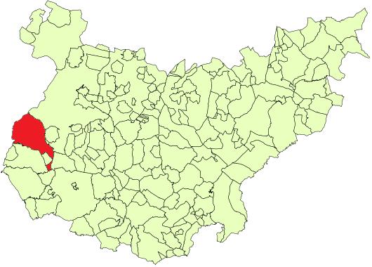 Olivenza-mapa