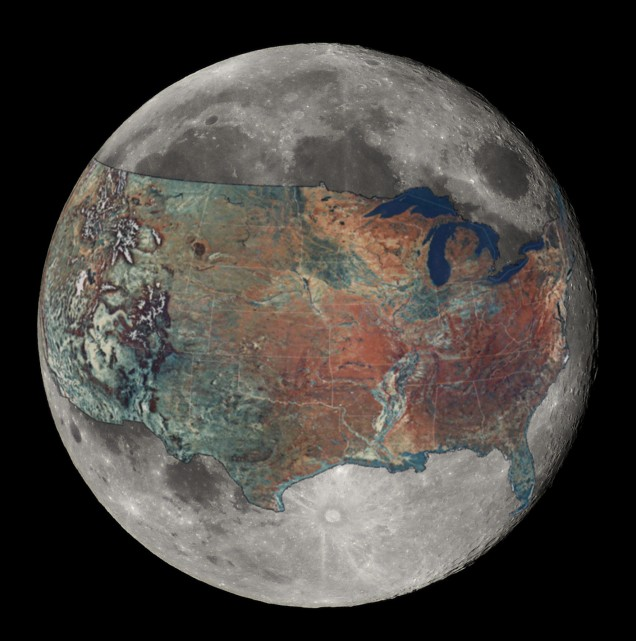 Moon-USA Comparison
