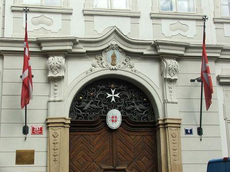 Embajada de la Orden de Malta en Praga