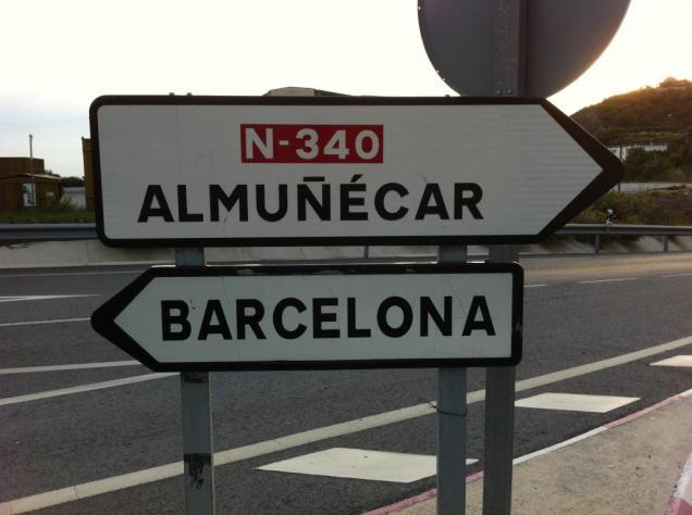 N340 AlmuñecarBarcelona