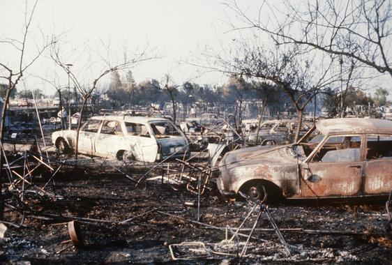 EXPLOSION CAMPING LOS ALFAQUES San Carlos de la Rápita (Tarragona), 12-7-1978