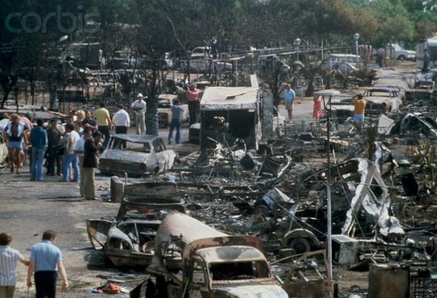 Fuel Tanker Explodes at Los Alfaques Killing Hundreds