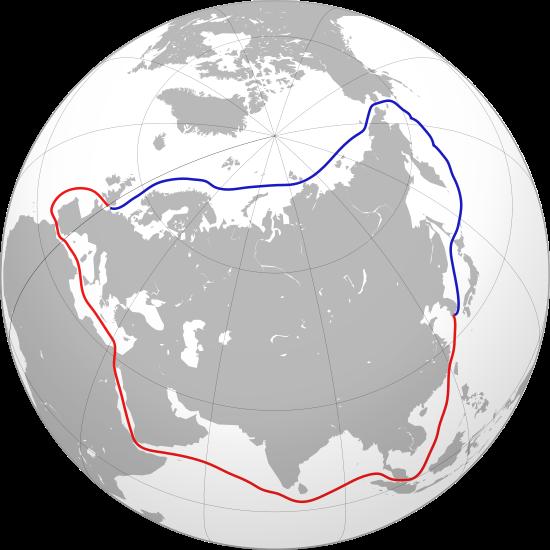Pasaje Noreste Ruta Norte