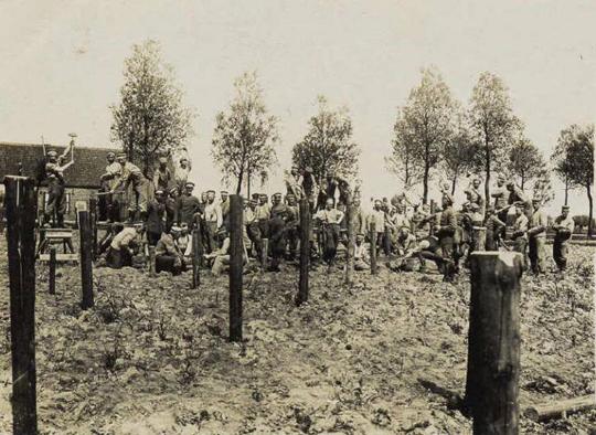 Bélgica 1915. La alambrada de la muerte