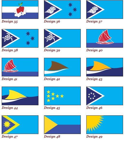 Nuevas banderas de fiyi