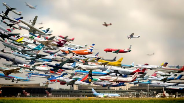 A fucking lot of planes at Hannover