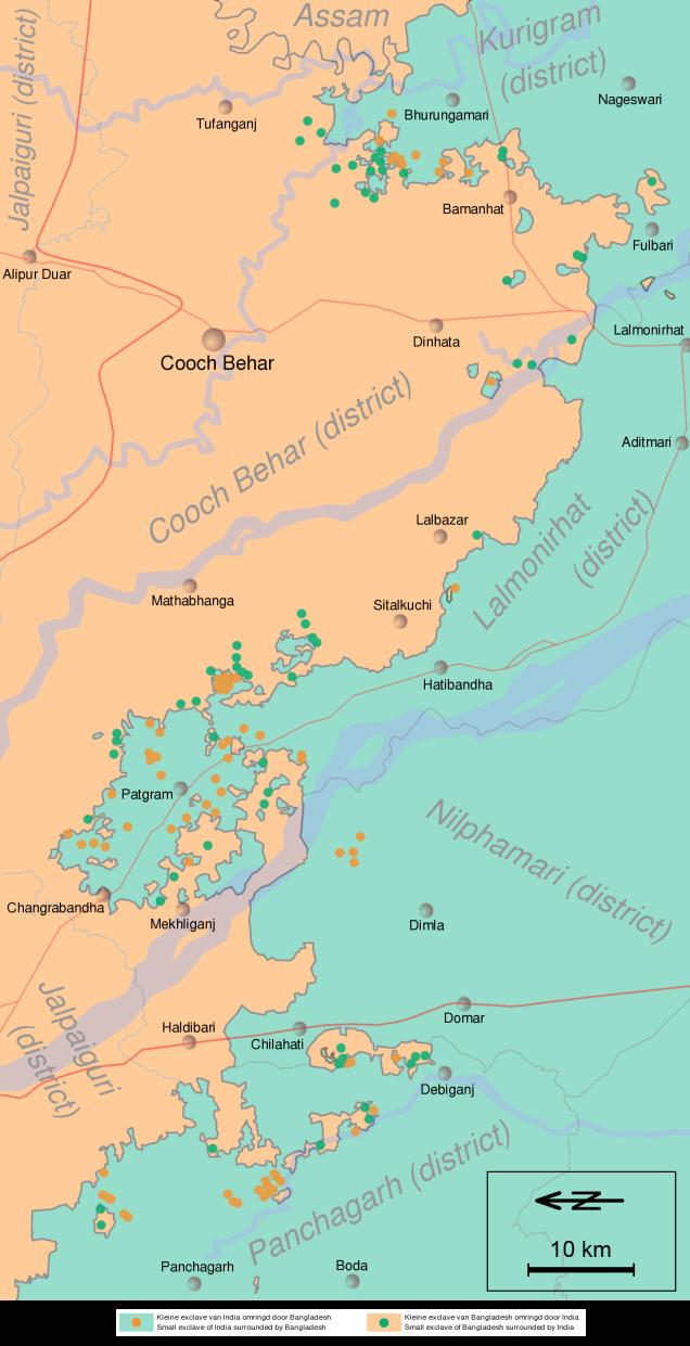 Cooch-behar-enclaves-schematisch