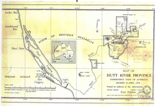 Hutt River Map by Robert Pope 01