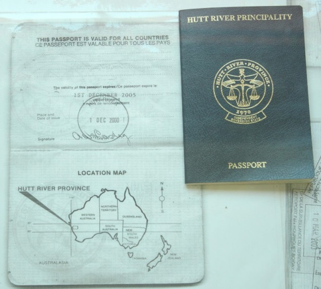 Hutt River Passport