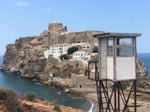 Puesto de vigilancia marroquí