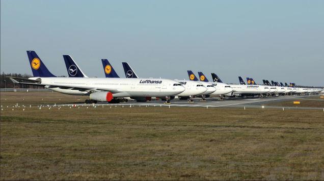 Lufthansa Naranja